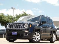 2016 Jeep Renegade Black 9-Speed 948TE Automatic