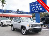 Options:  2016 Jeep Renegade Latitude|Silver|Glacier