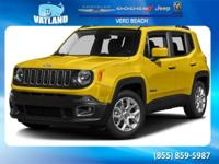 Red 2016 Jeep Renegade Latitude FWD 9-Speed 948TE