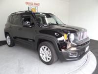 Options:  2016 Jeep Renegade Latitude 2Wd|Black