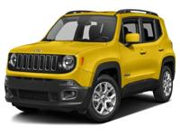 Options:  2016 Jeep Renegade Latitude|Miles: