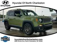 CARFAX One-Owner. Clean CARFAX. Green 2016 Jeep