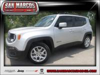 Options:  2016 Jeep Renegade Latitude|Silver/|V4 2.4 L