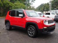 2016 Jeep Renegade Limited New Price! Certified. Clean