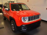 ONE OWNER ACCIDENT FREE. Renegade Limited, 2.4L I4