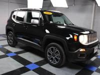 2016 Jeep Renegade Limited In Black. One owner