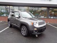 Certified Pre-Owned 2016 Jeep Renegade Limited 4x4 with