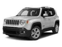 This 2016 Jeep Renegade 4dr 4WD 4dr Limited features a
