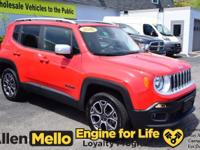 Introducing the 2016 Jeep Renegade! Here's a vehicle