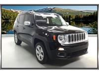 2016 Jeep Renegade Limited Black 2.4L I4 MultiAir 4WD