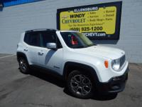 Options:  2016 Jeep Renegade Limited Fwd|We Offer