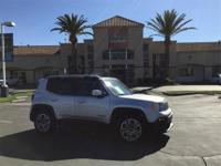 Clean CARFAX. Silver 31/22 Highway/City MPG 2016 Jeep