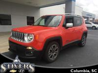 This 2016 Jeep Renegade Limited offers    *Automatic