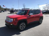 Colorado Red 2016 Jeep Renegade Limited FWD 9-Speed