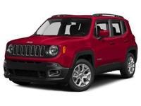 Introducing the 2016 Jeep Renegade! Maximum utility