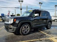 Options:  2016 Jeep Renegade Limited 4Dr