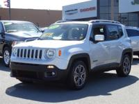 Options:  2016 Jeep Renegade Limited|Silver/|V4 2.4 L