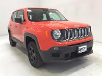 Options:  2016 Jeep Renegade Sport|Orange|**** 4X4 ****