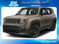 New Price! 2016 Jeep Renegade Sport FWD 9-Speed 948TE
