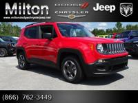 Introducing the 2016 Jeep Renegade! The optimal mix of