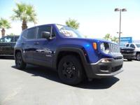Come see this 2016 Jeep Renegade Sport. Its Manual