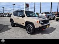 Trailhawk trim. EPA 29 MPG Hwy/21 MPG City! GREAT MILES