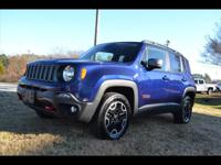 Options:  2016 Jeep Renegade Trailhawk|4X4 Trailhawk