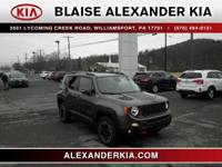 2016 Jeep Renegade Trailhawk 2.4L I4 MultiAir ONE