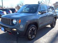 Lithia Q Certified, LOW MILES - 21,639! Trailhawk trim.
