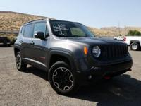 2016 Jeep Renegade Trailhawk Recent Arrival! 9-Speed