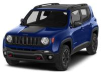 2016 Jeep Renegade Trailhawk Blue CARFAX One-Owner. 4WD