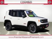 CARFAX One Owner. Clean CARFAX. Alpine White 2016 Jeep