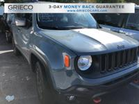 Recent Arrival! Local Trade. 2016 Jeep Renegade