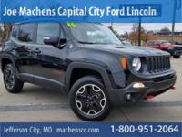4X4! Drive this home today! 2016 Jeep Renegade