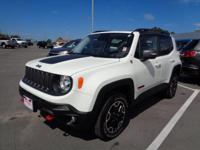 Options:  2016 Jeep Renegade Trailhawk|Trailhawk|4X4