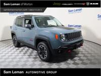 2016 Jeep Renegade Trailhawk in Anvil vehicle