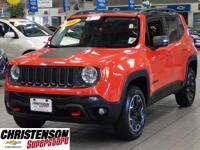 2016 Jeep Renegade Trailhawk in Omaha Orange for sale