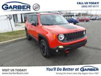 2016 Jeep Renegade Trailhawk! Featuring a 2.4L 4 cyls