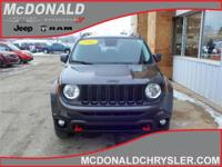 Options:  2016 Jeep Renegade Trailhawk  4X4|Miles: