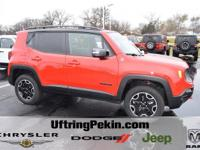 This is a 2016 Jeep Renegade Trailhawk 4x4 with only