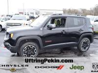 This is a 2016 Jeep Renegade Trailhawk 4x4 with only 8K