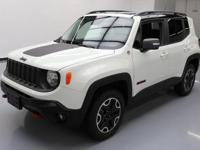 This awesome 2016 Jeep Renegade 4x4 comes loaded with