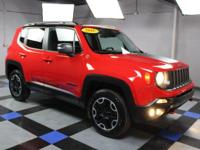2016 Jeep Renegade Trailhawk In Colorado Red. One owner