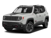 2016 Jeep Renegade Jetset Blue  CARFAX One-Owner. 29/21