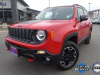 Options:  2016 Jeep Renegade Trailhawk|6 Speakers|Am/Fm