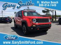Options:  2016 Jeep Renegade Trailhawk|One Owner Cream