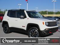 New Arrival! This 2016 Jeep Renegade Trailhawk will