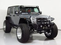 2016 Jeep Wrangler Unlimited Rubicon  Silver Red