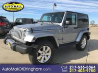 TURN HEADS in this JEEP WRANGLER SAHARA! This is a 2016