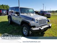 2016 Jeep 4WD Wrangler Unlimited Rubicon billet silver
